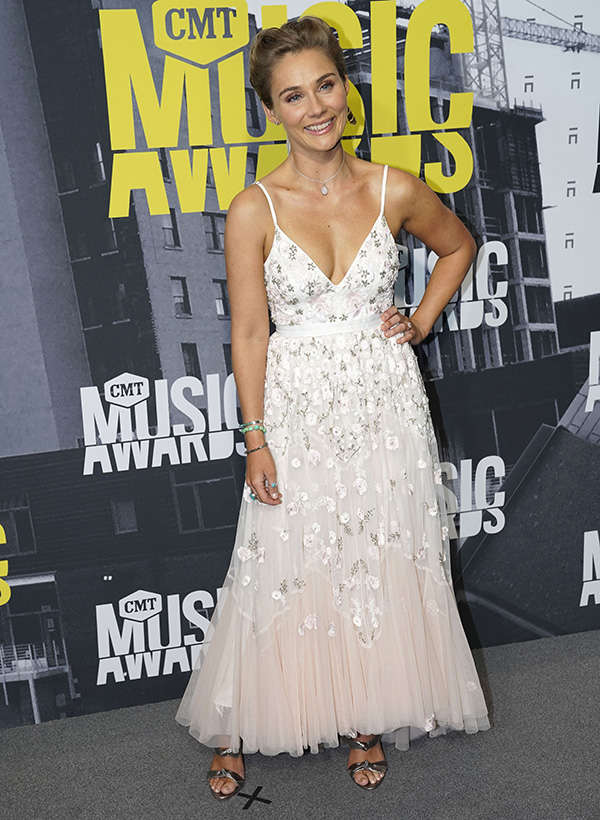​Clare Bowen​ attends the CMT Music Awards