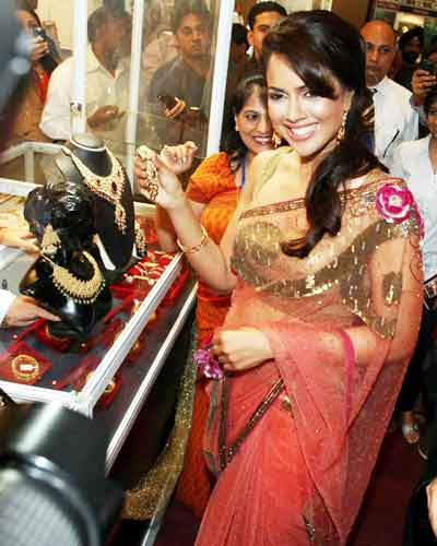 Sameera at a festival