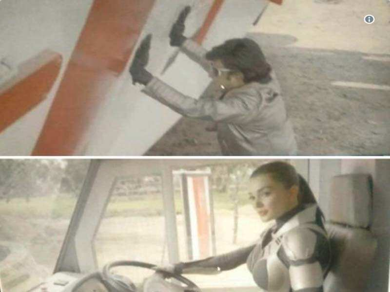 2 0 Stills Leaked Amy Jackson To Play A Female Robot