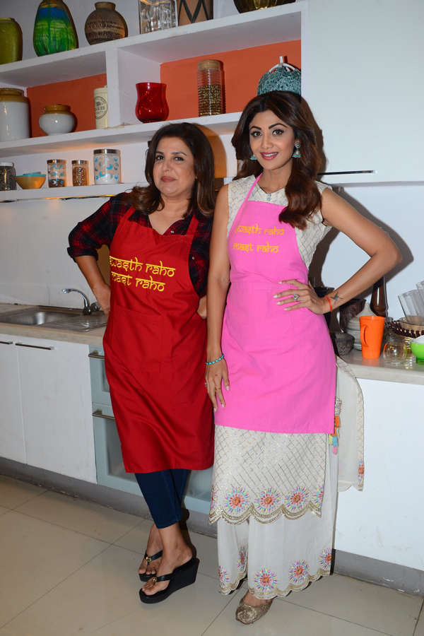 Shilpa Shetty Wellness Series: On the sets