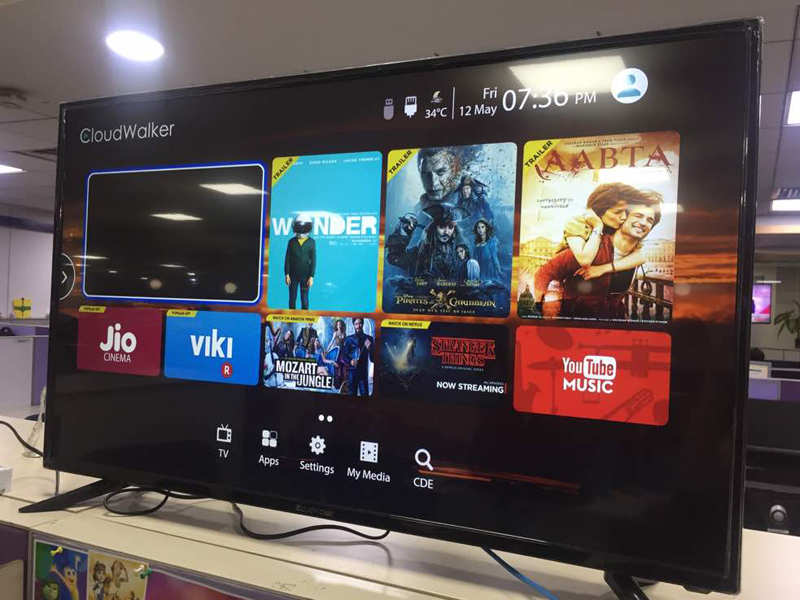 Compare Phones Side By Side >> Cloudwalker TV 43SU 4K TV review: High on features, low on ...