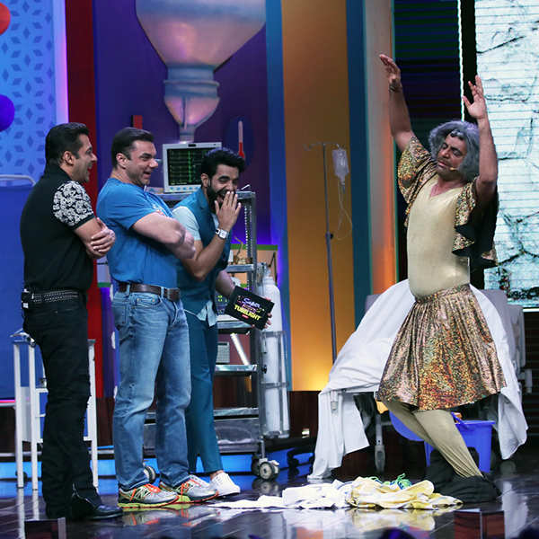 Super Night With Tubelight: On the sets
