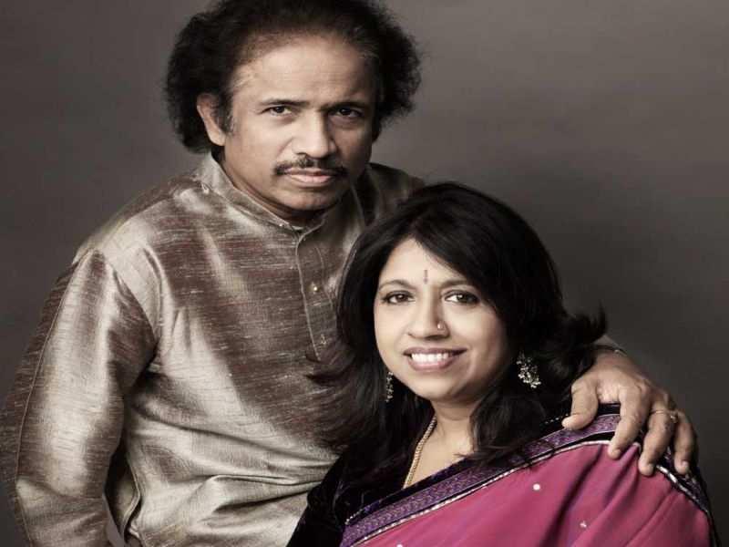 Dr. L Subramaniam and Kavita Krishnamurti