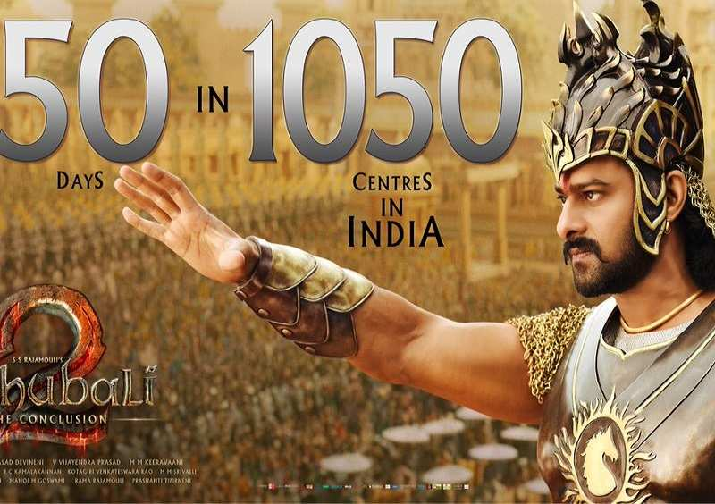 'Baahubali 2: The Conclusion' breaks another record as it completes 50 days in over 1000 theatres