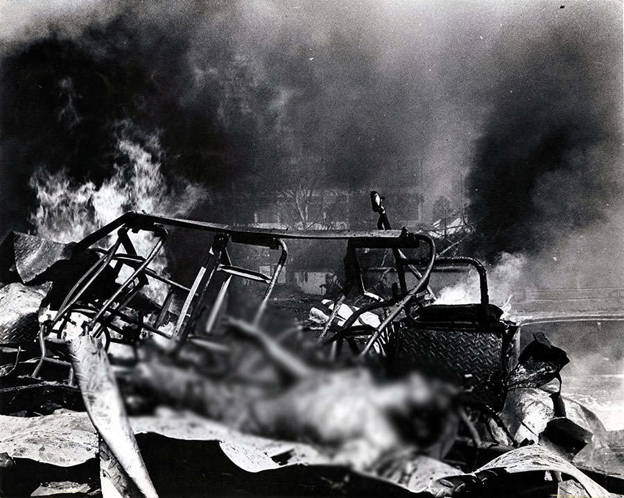 Horrific photos of 1993 Mumbai serial blasts