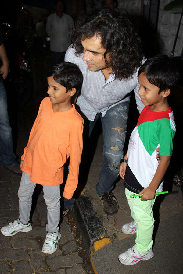 Imtiaz Ali's birthday party