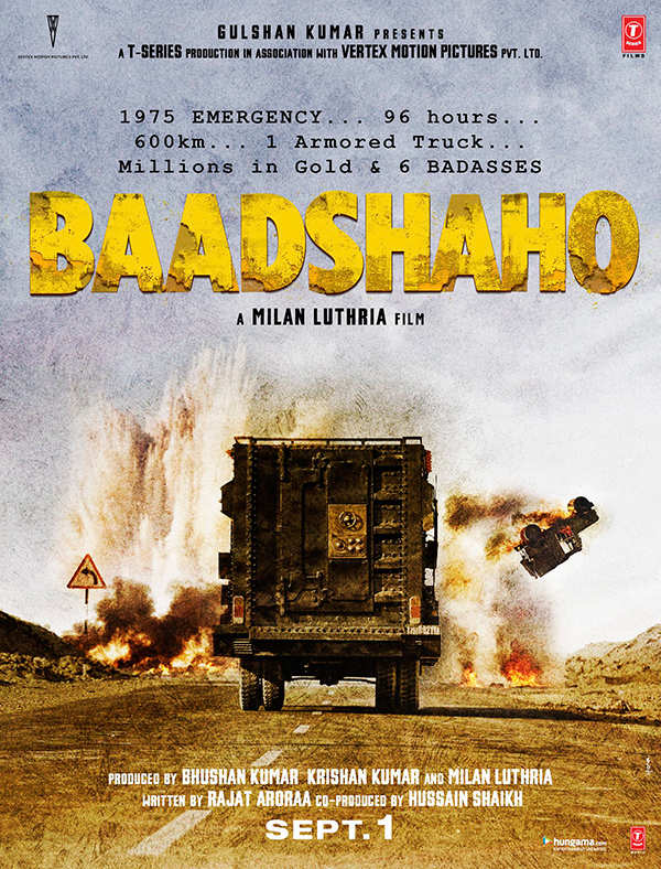 Baadshaho first poster