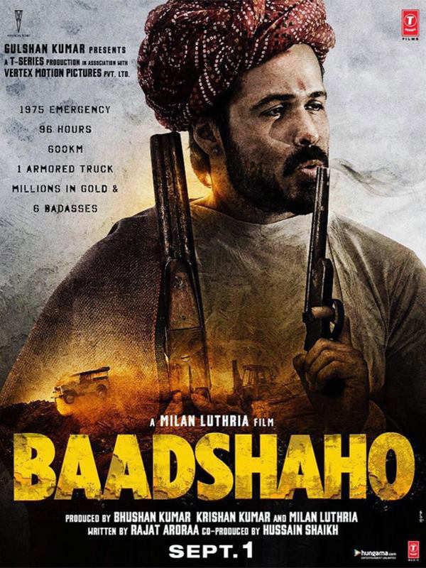 Baadshaho Poster of Emraan Hashmi