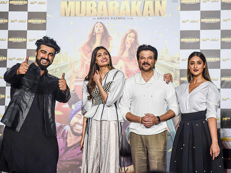 Mubarakan: Trailer launch