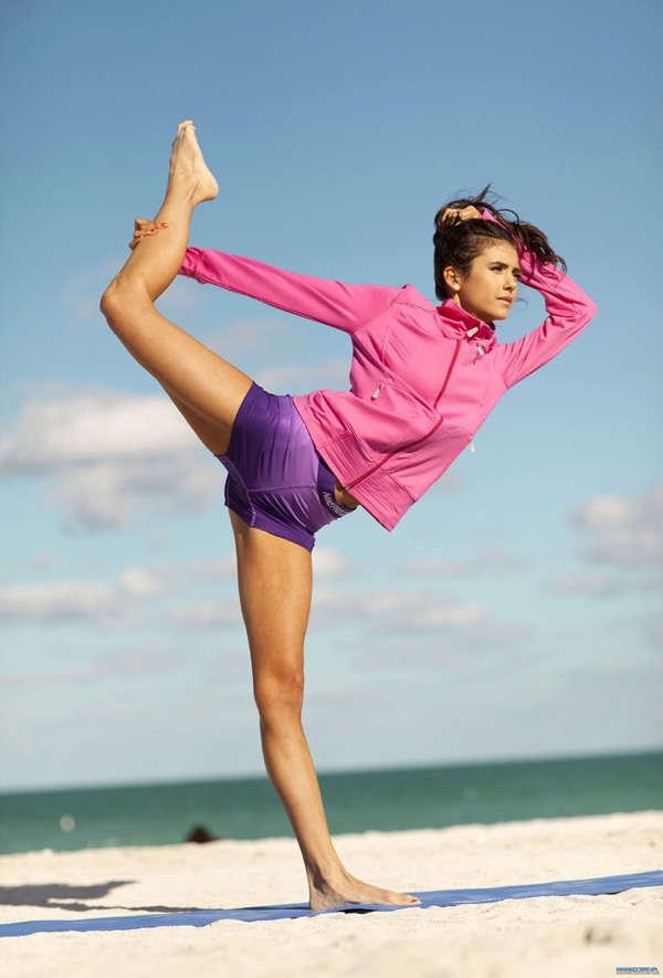 Nina Dobrev gives credit to yoga