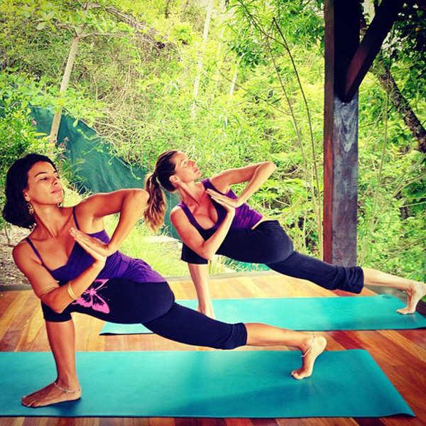 Gisele Bündchen is an avid follower of yoga