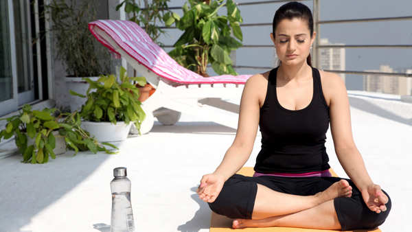 Ameesha Patel practices yoga to stay in shape