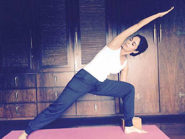Mallika Sherawat is an avid follower of yoga