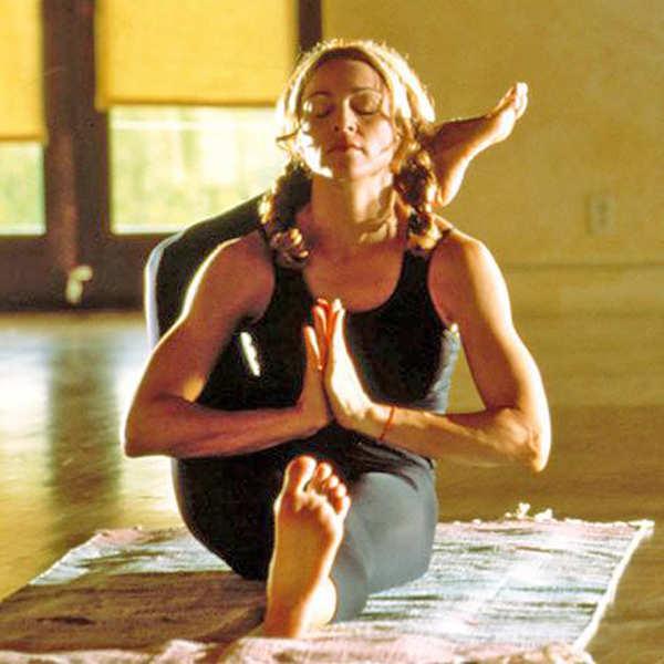 Madonna, the Guru who promoted yoga