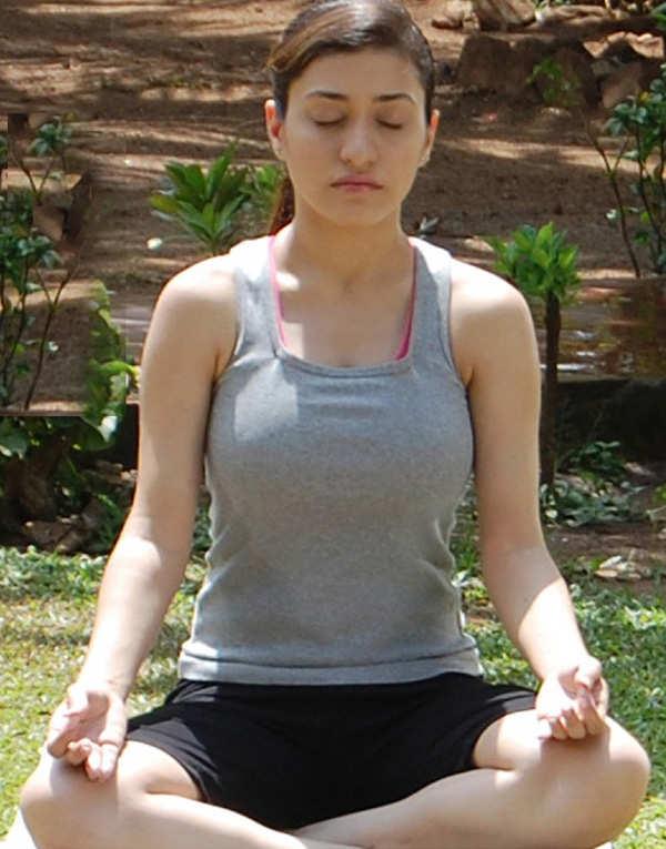 Kainaz Motivala has launched a Yoga DVD