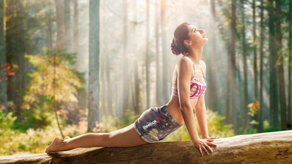 Nargis Fakhri practices yoga to stay in shape