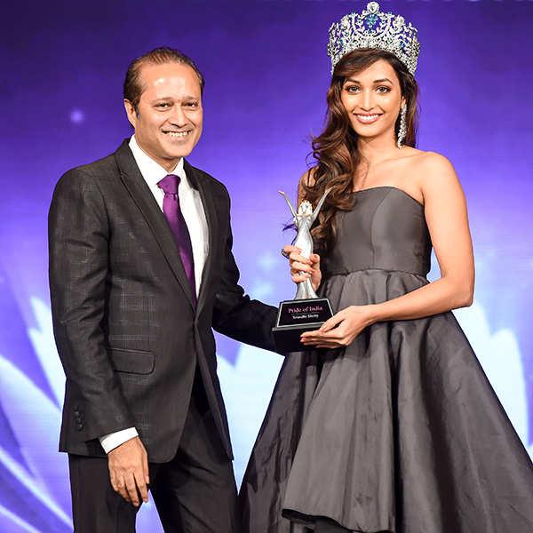 Miss India 2017: Srinidhi Shetty, Rohit Khandelwal, and Jitesh Thakur felicitated