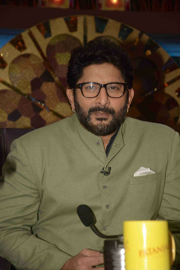 Arshad Warsi on the set of reality show