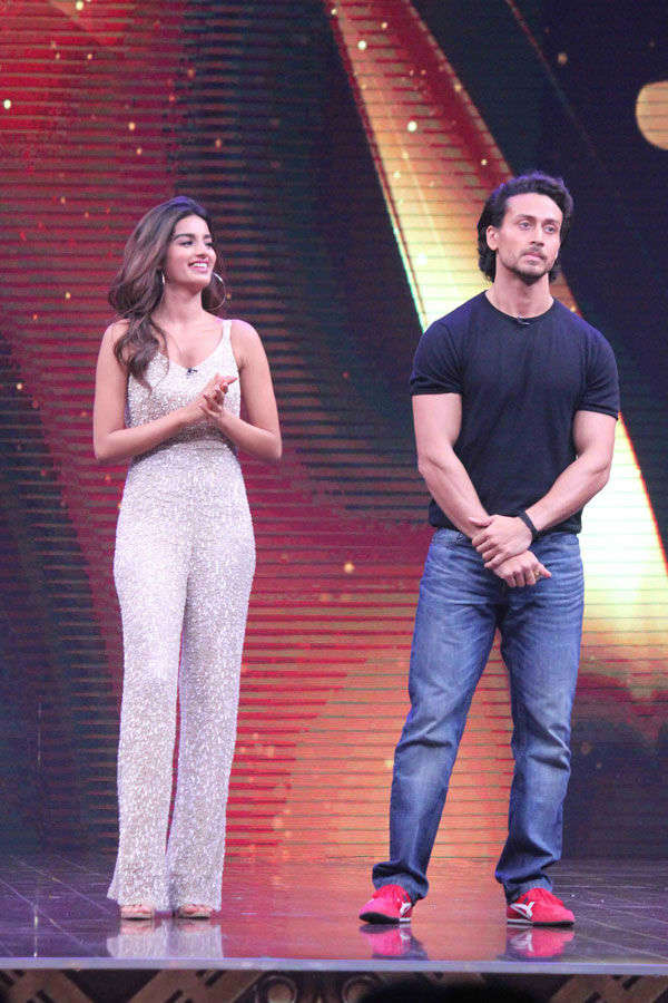Tiger Shroff and Nidhhi Agerwal together