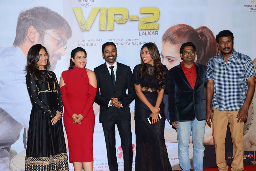 Cast of Vip 2 at trailer launch