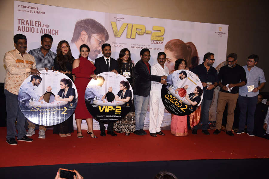Celebs at trailer launch of Vip 2