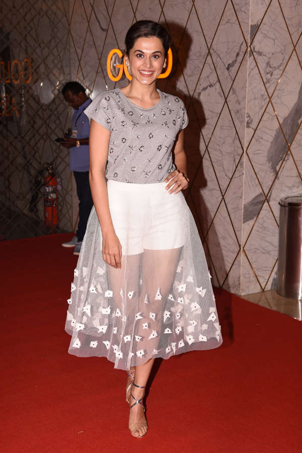Taapsee Pannu at Vip 2 trailer launch