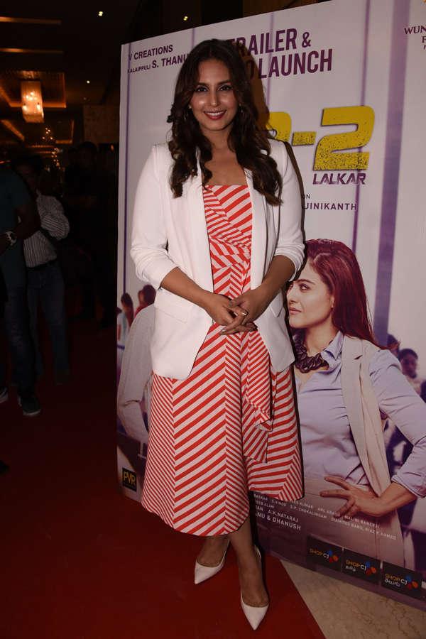 Huma Qureshi at Vip 2 trailer launch