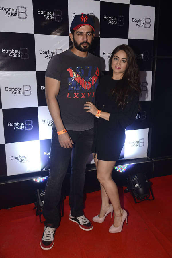 Launch of lounge Bombay Adda