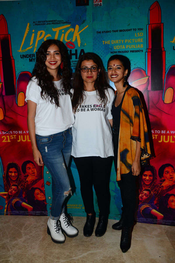 Lipstick Under My Burkha : Trailer Launch