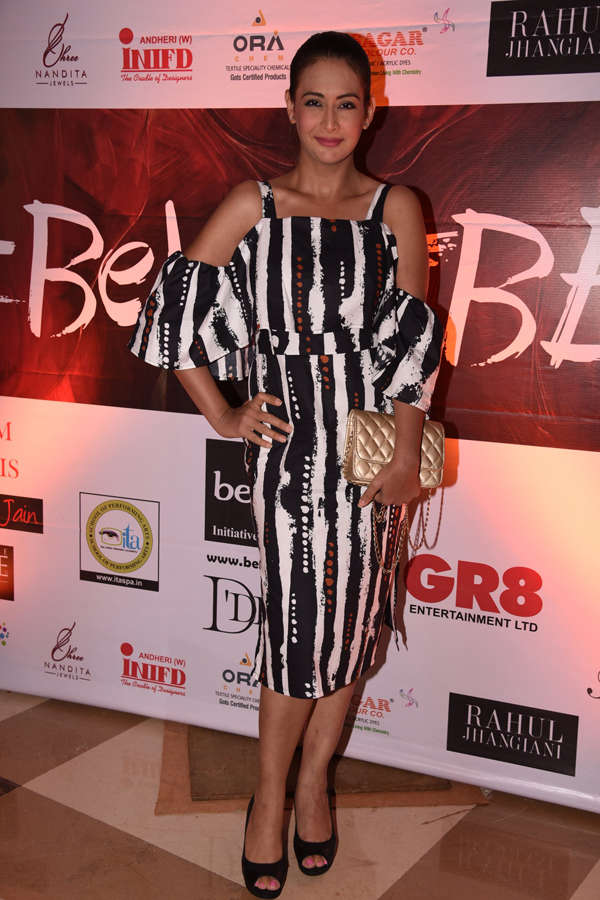 Preeti Jhangiani at Beti Fashion Show