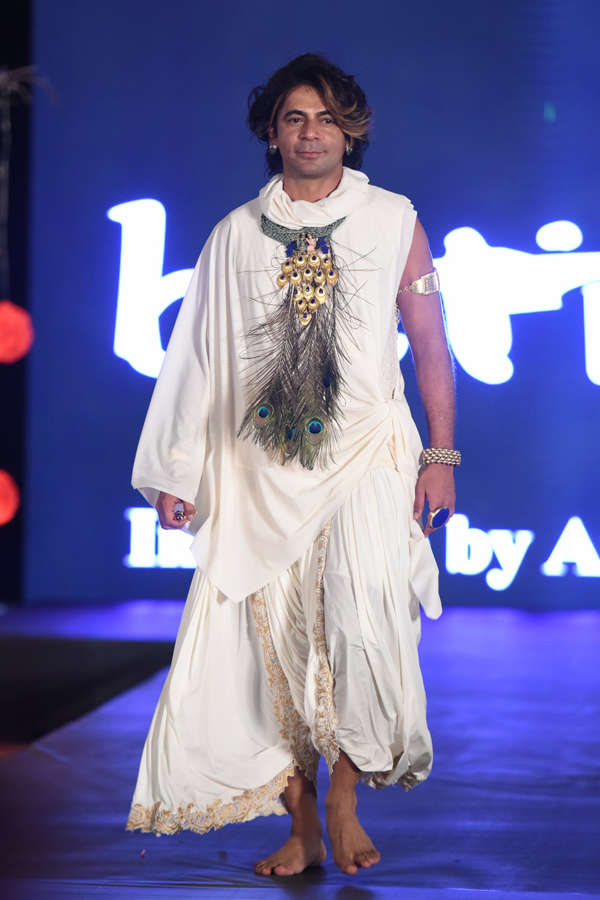 Sunil Grover at Beti Fashion Show