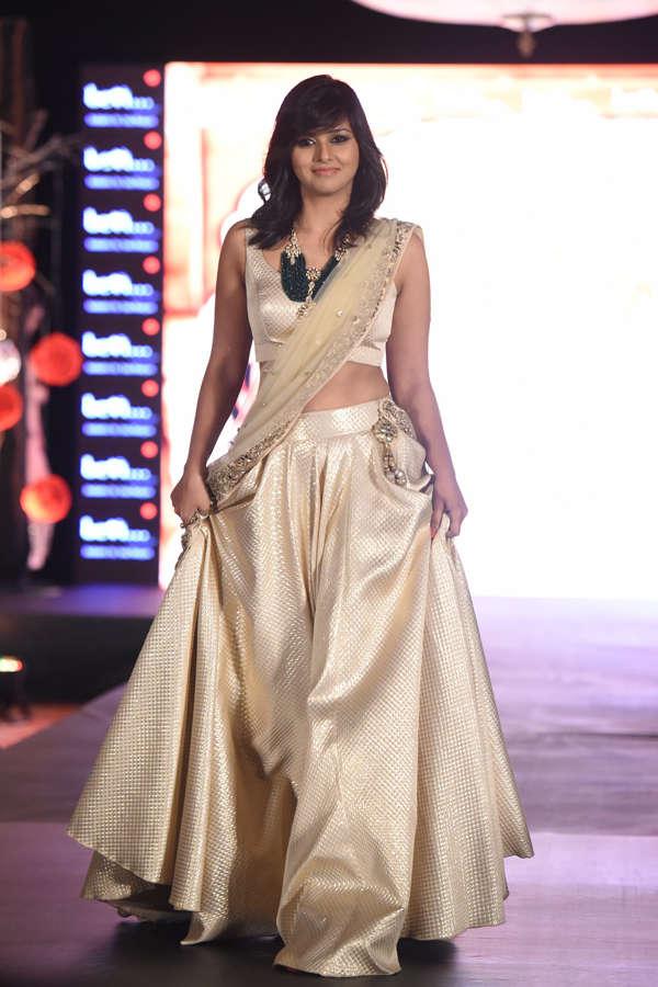 Daljeet Kaur at Beti Fashion Show