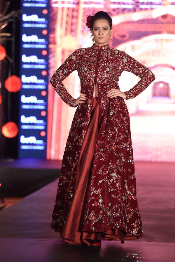 Jasveer Kaur at Beti Fashion Show