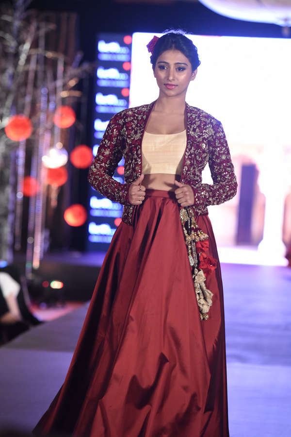 Mohena Singh at Beti Fashion Show