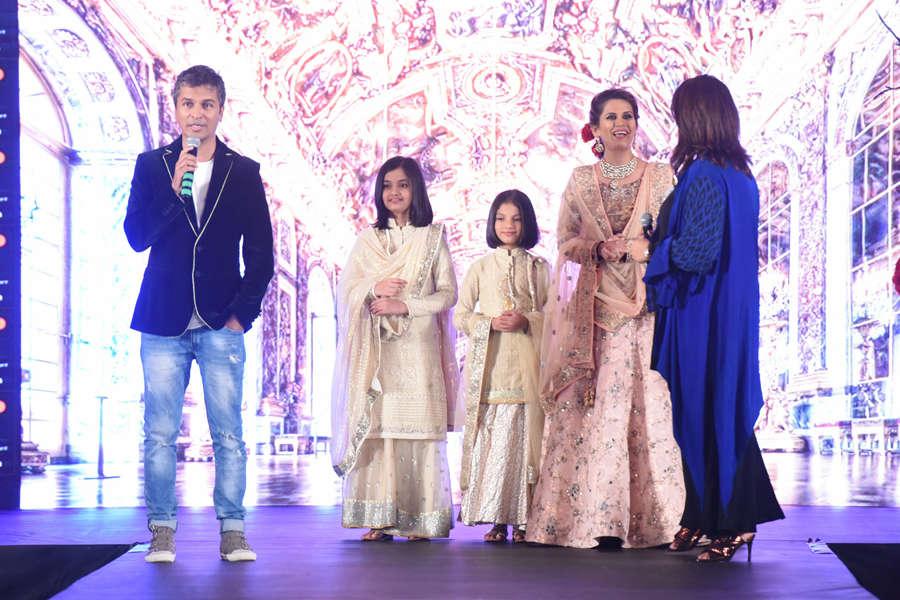 Vikram Phadnis,  Trishnika Shinde,  Nishtha Vaidya and Sonali Khare promoting Hrudayantar film