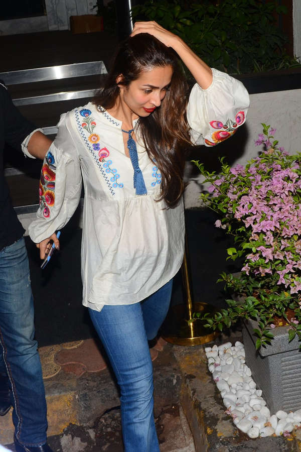Photos of celebrity outings