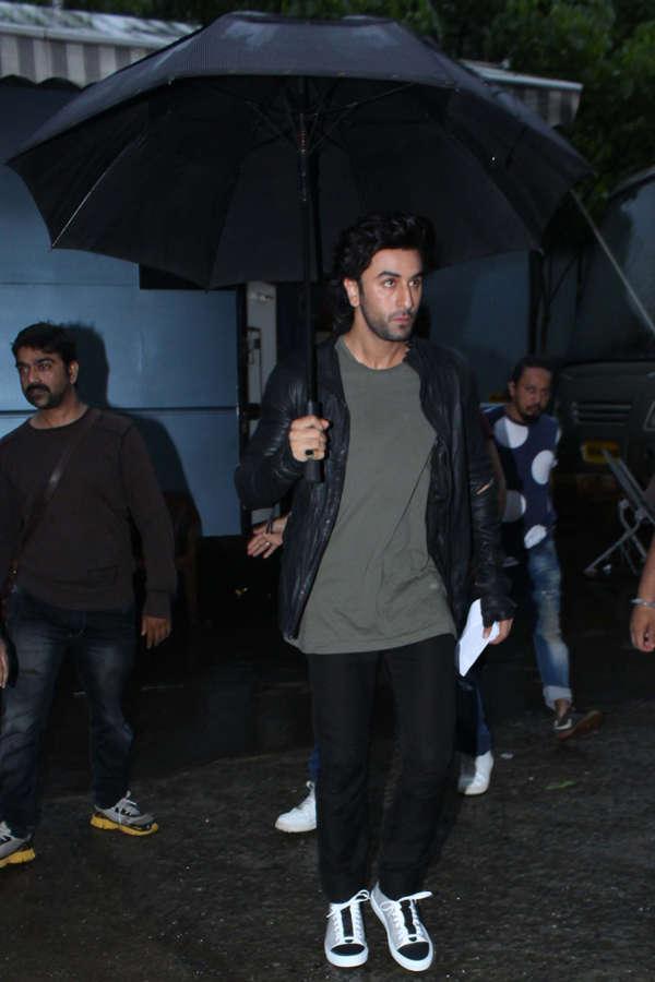Ranbir Kapoor arrives