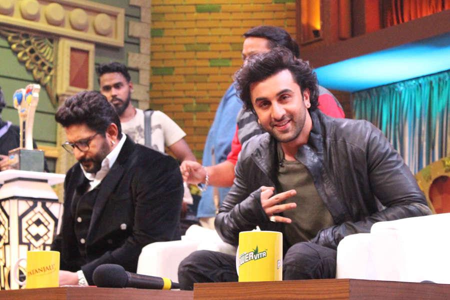Ranbir Kapoor during Jagga Jasoos promotion