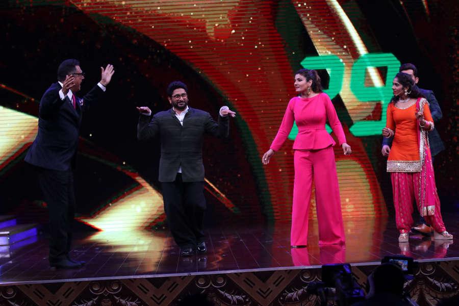 Boman Irani, Arshad Warsi and Raveena Tandon