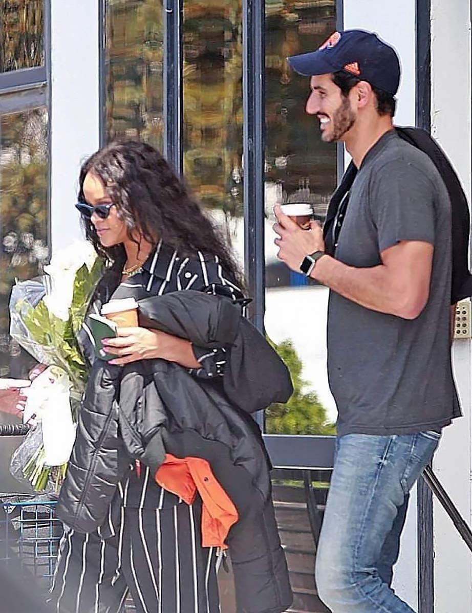 Rihanna with Hassan Jameel