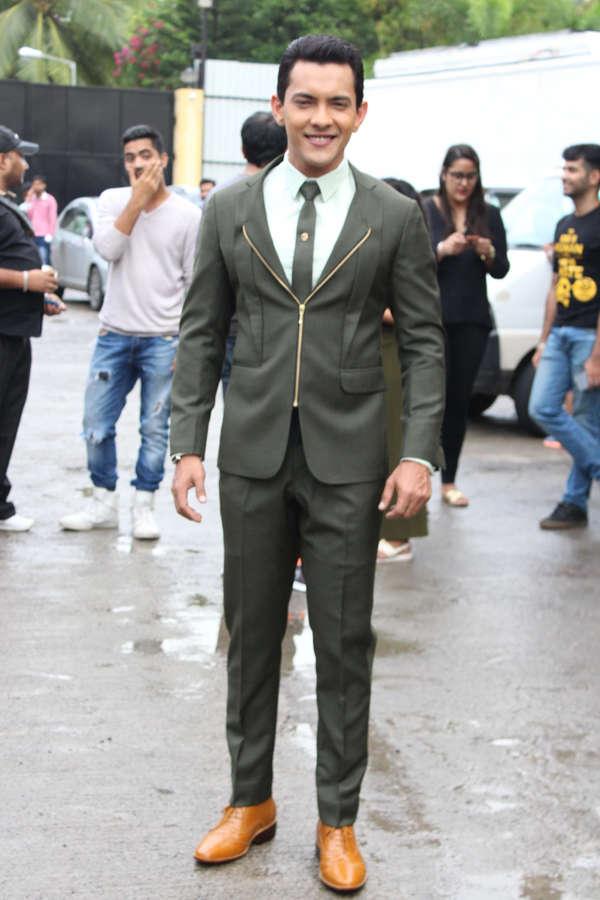 Aditya Narayan poses for the camera