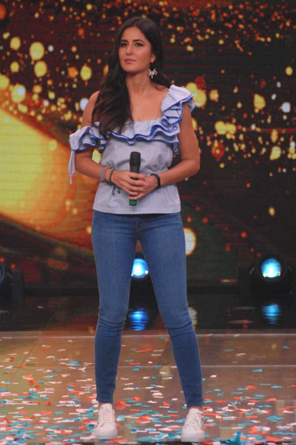 Katrina Kaif during jagga jasoos promotion