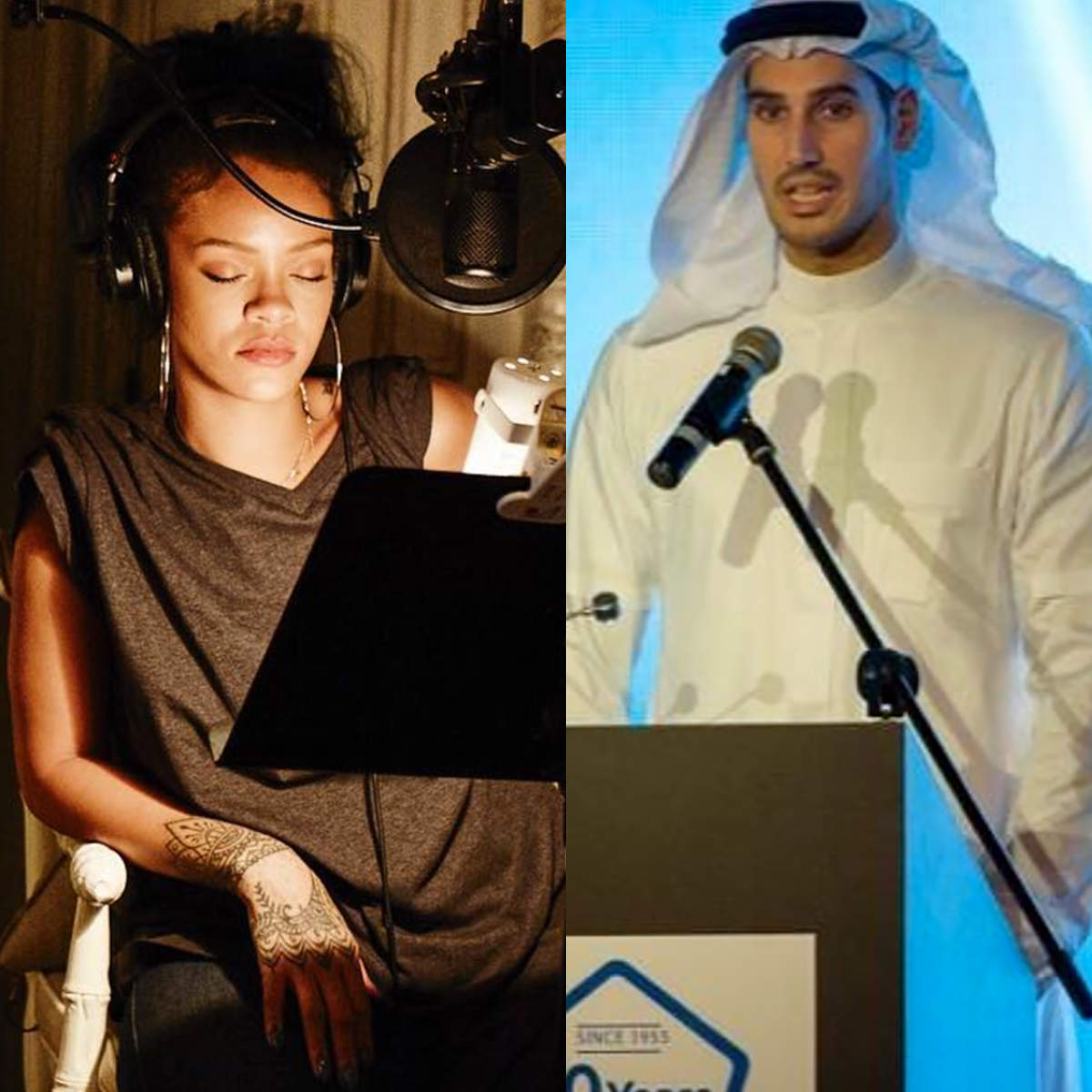 Rihanna's mystery man revealed, and he's a multi-millionaire from Saudi Arabia...