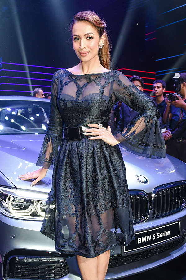 Celebs at BMW 5 Series' launch party