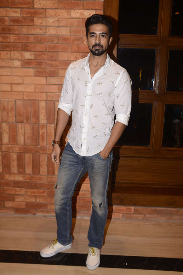 Aftab Shivdasani's birthday party