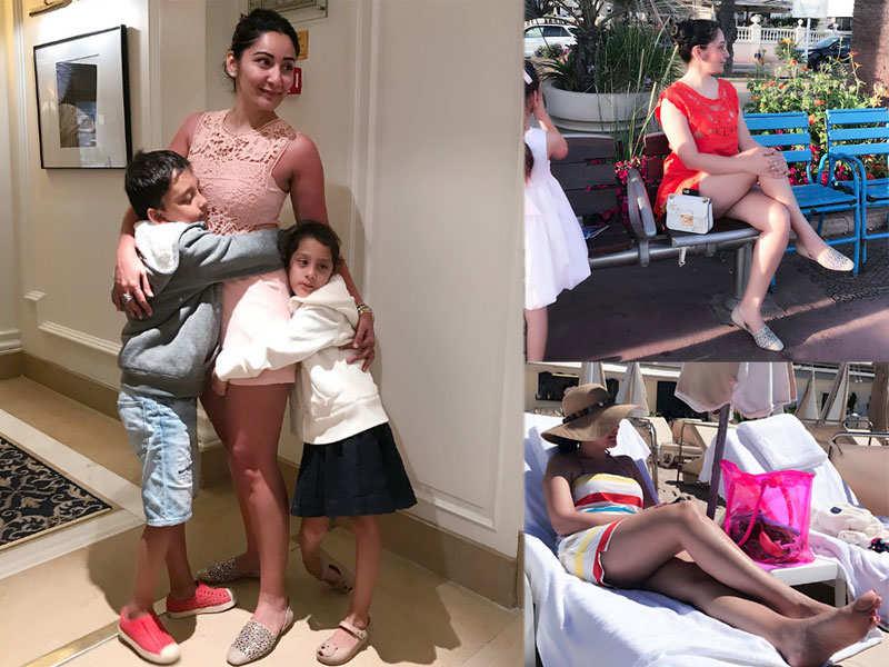 Maanayata Dutt sets the mercury soaring in Cannes
