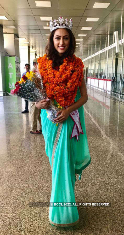 Miss India United Continents 2017: Sana Dua's grand homecoming