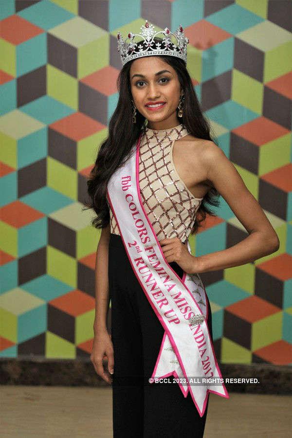 Femina Miss India 2017 2nd runner up Priyanka Kumari homecoming