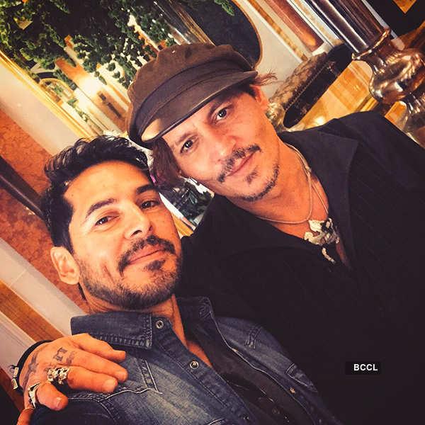 Dino Morea, Johnny Depp