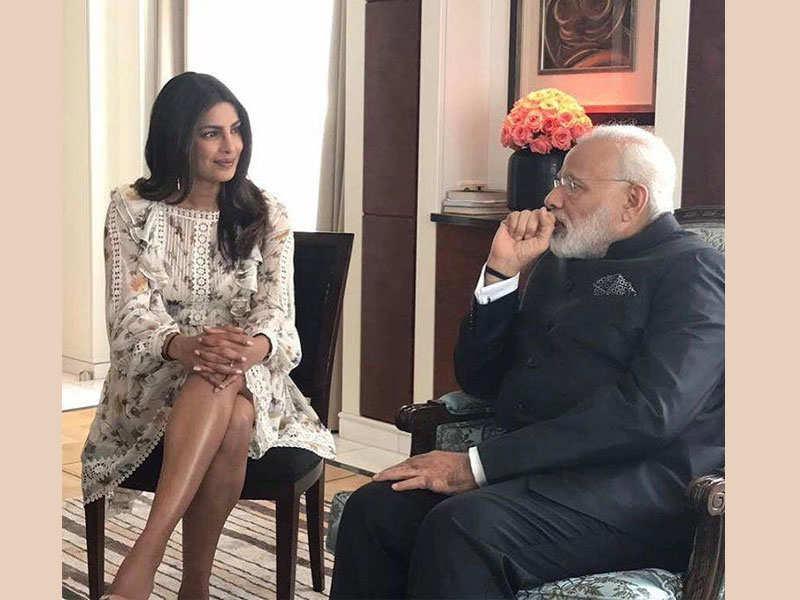 Priyanka Chopra's mum tells the real story behind her 'bare-legged' meeting  with PM Modi